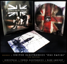 "RRUK021   UNITED ELECTRONICS - ""One Empire""   CD   Ltd Edition"