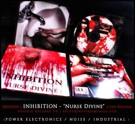 "RRUK020   INHIBITION - ""Nurse Divine""   Mini CD   Ltd Edition"