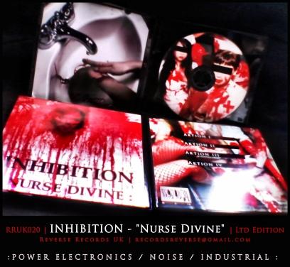"RRUK020 | INHIBITION - ""Nurse Divine"" | Mini CD | Ltd Edition"