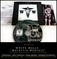 "RRUK014 | WHITE WALLS - ""Malattia Mentale""  (Special Edition) | CD Digipak | Ltd Edition"