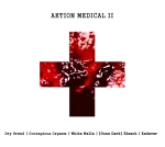 "DRY GREED,  CONTAGIOUS ORGASM,  WHITE WALLS, [GONE DARK] BLEACH, KADAVER ""Aktion Medical II"" (5-Way Split Assault) [RRUK005] CLICK TO VIEW -->"