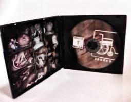 """RRUK013   WHITE WALLS - """"Issues""""   Mini CD   Ltd Edition"""