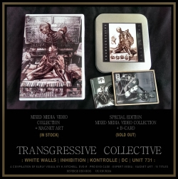 """TRANSGRESSIVE COLLECTIVE"" V.A. (A VIDEO COMPILATION) [RRUK024]"